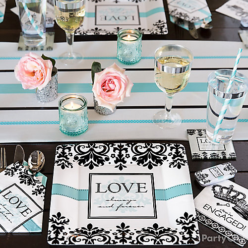 Engagement Place Setting Idea