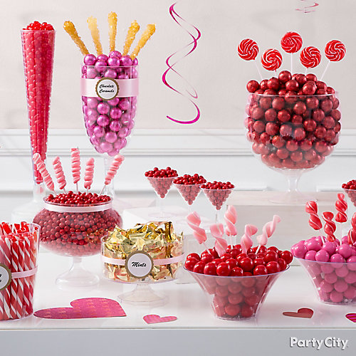 Galentines Candy Buffet Idea