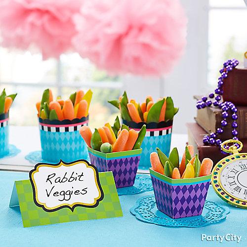 White Rabbit Veggies Idea