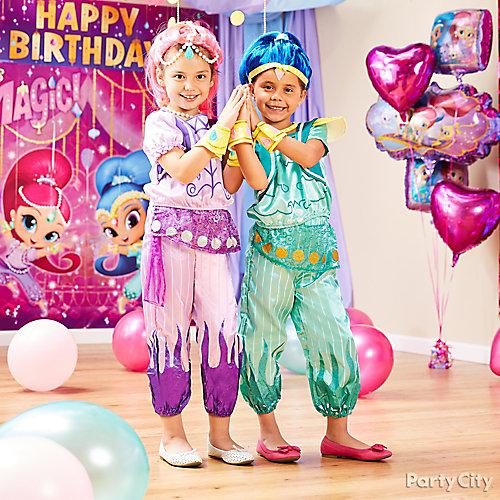 Shimmer and Shine Birthday Costume Idea
