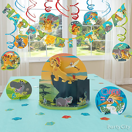 Lion Guard Essential Decorating Idea