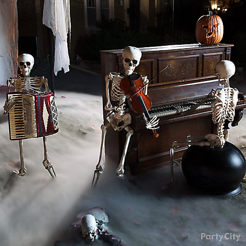 Skeleton Band Idea