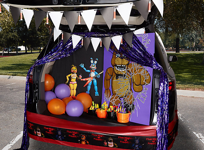 Halloween Decorations Far A Car Ven 2020 22 Trunk or Treat Ideas That Rev up Halloween Fun | Party City