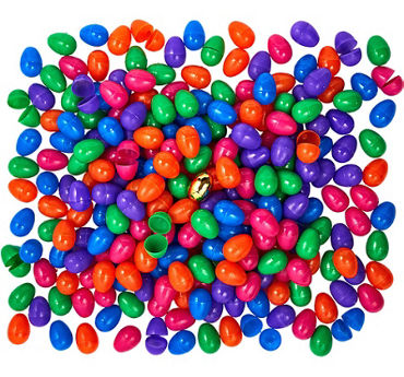 Fillable Easter Eggs 250ct