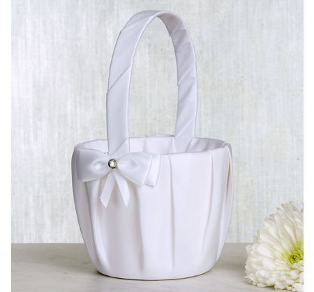White Pearl Wedding Money Bag 8 3/4in x 11in | Party City