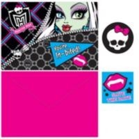 Monster high invitations 8ct party city monster high invitations 8ct filmwisefo Image collections