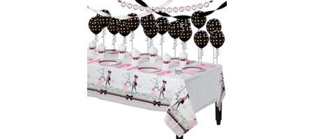 Pink Paris Party Supplies - Paris Theme Party | Party City