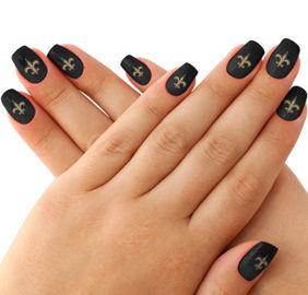New Orleans Saints Nail Design Best Nail Designs 2018