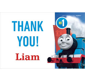 Custom Thomas The Tank Engine Thank You Note
