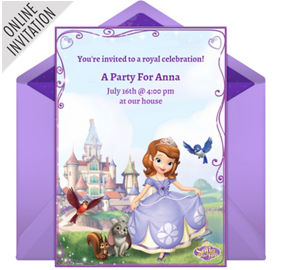 Sofia the first party supplies sofia the first birthday ideas online sofia the first invitations stopboris Images
