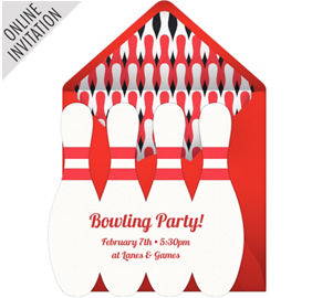 Bowling Party Supplies Bowling Birthday Party Supplies