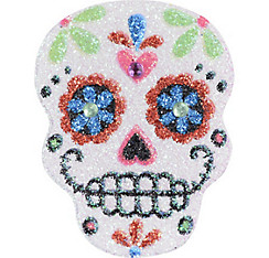 Day of the dead costumes accessories for women men kids for Day of the dead body jewelry