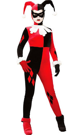 Adult Funny Lady Villain Costume   Party City