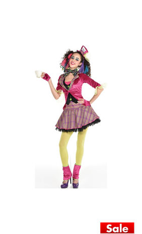 Teen Girls Sassy Queen of Hearts Costume | Party City