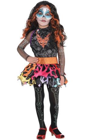 Little Girls Monster High Clawdeen Wolf Costume | Party City