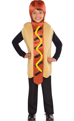 boys hot diggety hotdog costume