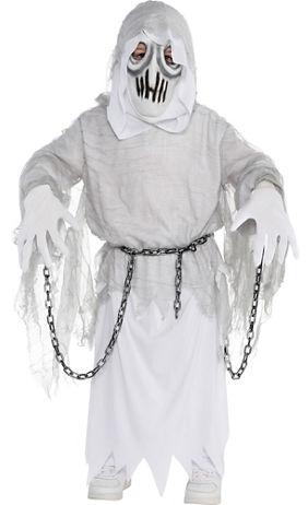 boys creepy spirit ghost costume