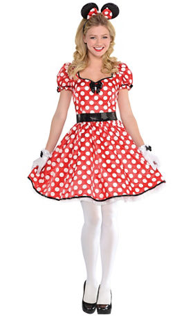Minnie Mouse One-Piece Costume | Party City