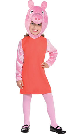 Toddler Girls Peppa Pig Costume | Party City
