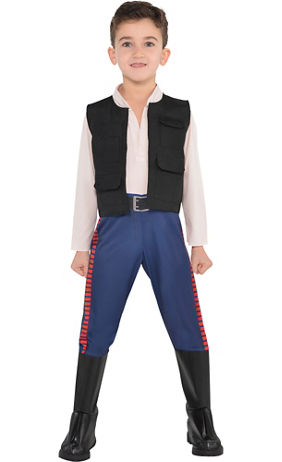 little boys han solo costume star wars - Pictures For Little Boys