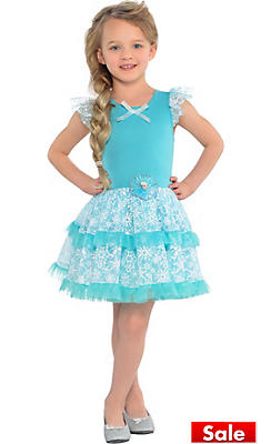 S Tutu Elsa Dress Frozen