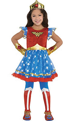 Wonder Woman Costumes for Kids & Adults | Party City