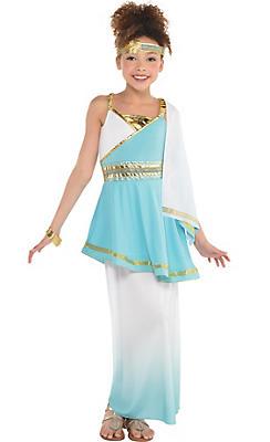 Egyptian roman greek costume accessories party city girls goddess venus costume solutioingenieria Image collections