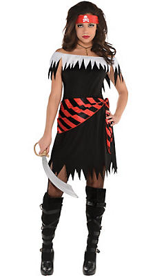 Pirate costumes for women sexy pirate costume ideas party city adult ahoy katie pirate costume solutioingenieria Gallery