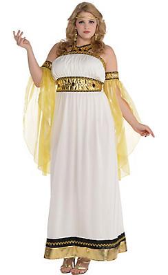 Egyptian roman greek costume accessories party city adult divine goddess costume plus size solutioingenieria Choice Image