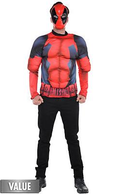 Deadpool Costume Accessories - Deadpool Halloween Costumes | Party ...