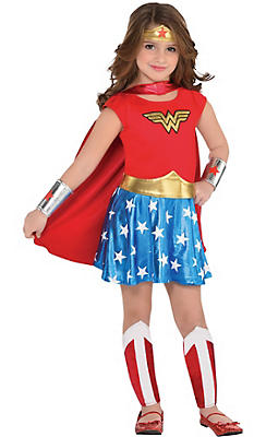 toddler girls wonder woman costume - Toddler Cartoon Characters