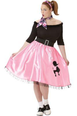 89b6fb38f00ae 50s Costumes - Sock Hop Costumes, Poodle Skirts & Car Hop Costumes ...