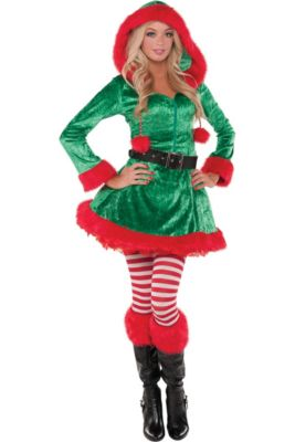 Christmas Elf Costumes for Kids   Adults - Elf Outfits   Accessories ... 3adbfd350