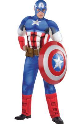 Captain America Muscle Costume Clic