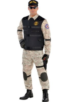 9b6f1b86 Army, Navy, Air Force & Other Military Costumes | Party City