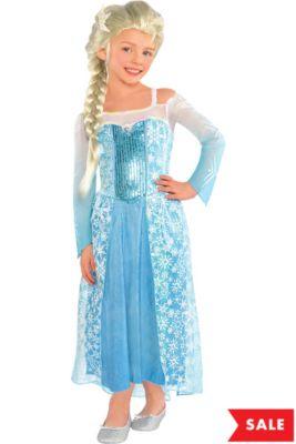 ec59f6468be Girls Elsa Costume - Frozen