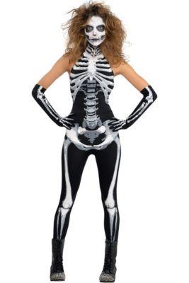 88bf6dadeeab Skeleton Costumes for Kids   Adults - Skeleton Halloween Costumes ...