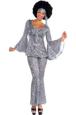 b8d2204f69494 Adult Dancing Queen Disco Costume