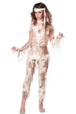 teen girls mystical mummy costume