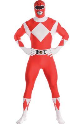 fbb9de68f Adult Red Power Ranger Partysuit - Mighty Morphin Power Rangers