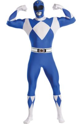 2fa3b6b016 Adult Blue Power Ranger Partysuit - Mighty Morphin Power Rangers