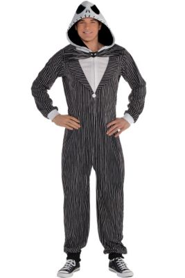 adult zipster jack skellington one piece costume the nightmare before christmas