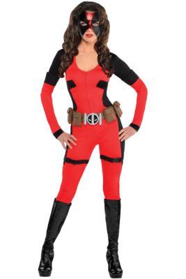 adult lady deadpool costume