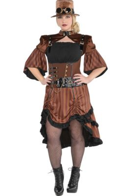 18442abf453ca Adult Steamy Dreamy Steampunk Costume Plus Size