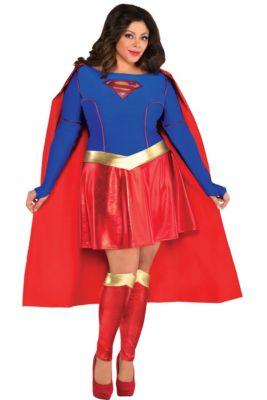 Super Costume Plus Size Superman