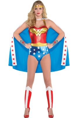 c6fde7f4a01 Wonder Woman Costumes for Kids & Adults | Party City