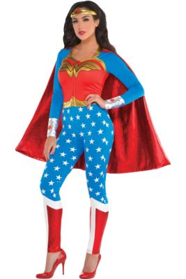 02f56927060 Wonder Woman Costumes for Kids & Adults | Party City