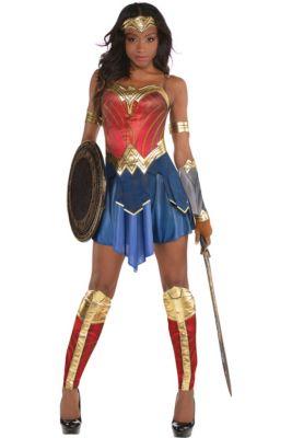 ebb7ee4bdff3 Womens Wonder Woman Costume - Wonder Woman Movie