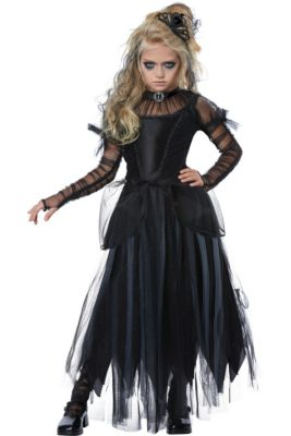 Scary Halloween Costumes For Kids Girls Uk.Girls Horror Gothic Costumes Vampire Costumes For Girls