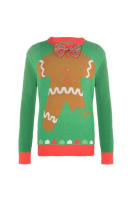 dbbc8271f4d Child Gingerbread Man Ugly Christmas Sweater